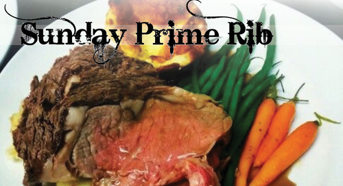 Sunday Night Prime Rib Dinner