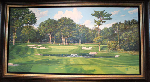 6th Hole Tony Harris Print ~ Great Gift!