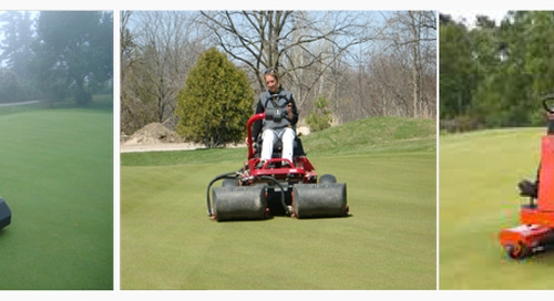 Walking versus Riding Greens Mowers