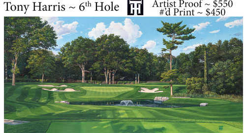Tony Harris ~ 6th Hole ~ Prints & Proof