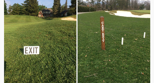 Exiting Around the Greens ~ Turf Blog