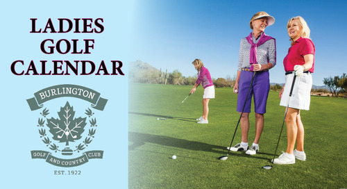 Ladies 2019 Golf Calendar