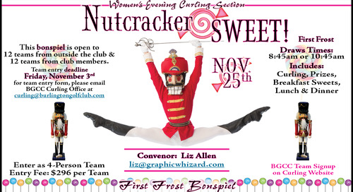First Frost ~ Nutcracker SWEET! ~ November 25th