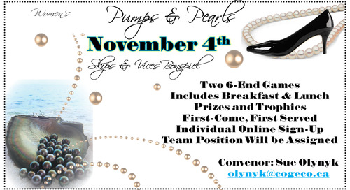 Pumps and Pearls ~ Saturday, November 4th