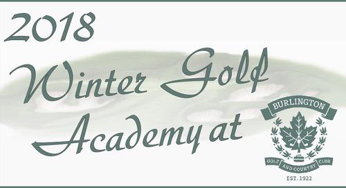Winter Golf Academy 2018