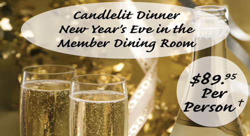 NYE ~ Candlelit Dinner ~ Sunday, Dec. 31st