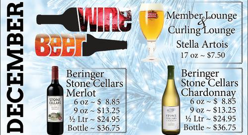 Beer & Wine Specials ~ December