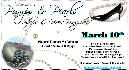 Pumps & Pearls ~ March 10th