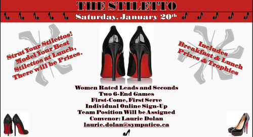 Stiletto Bonspiel ~ January 20th