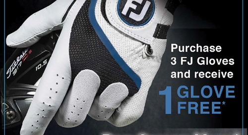 Foot Joy Locker Load Glove Sale! Until May 15th
