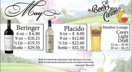 May Beer and Wine Specials
