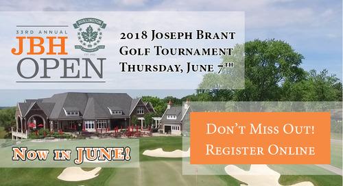 JBH OPEN ~ June 7th ~ Register Today!