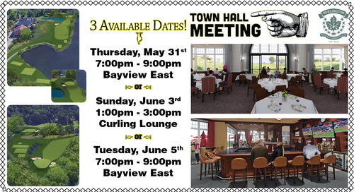 Town Hall Meetings ~ May 31st, June 3rd & June 5th