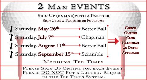 Two-Man Events--> Season Long