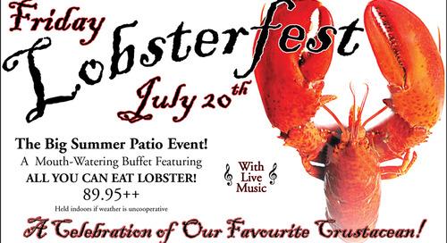 Lobsterfest ~ July 20th