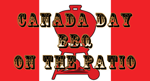 Canada Day BBQ on the Patio (Weather Permitting)
