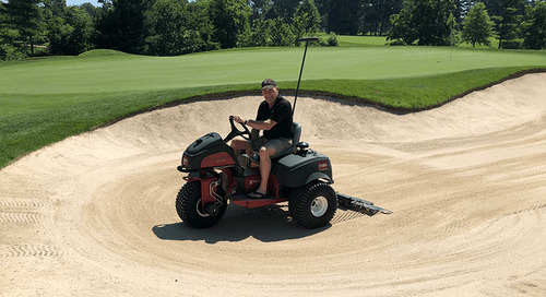 The Sand-Pro and Greens Maintenance