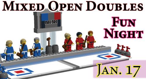 Mixed Open Doubles Fun Night ~ January 17th