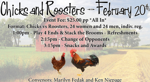 Chicks and Roosters ~ February 17th