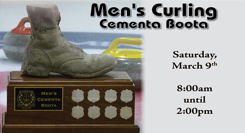 Men's Cementa Boota ~ March 9th