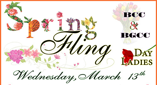 Day Ladies Spring Fling ~ March 13th ~ with BCC