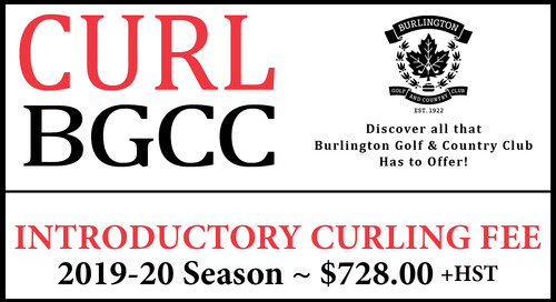 CURL BGCC ~ Introductory Rate ~ 2019/2020 Season