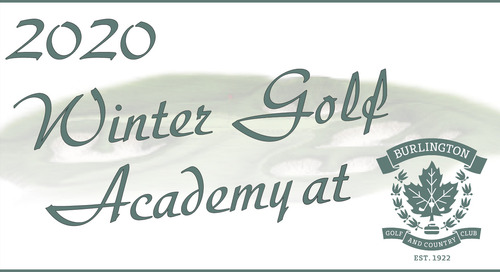 2020 Winter Golf Academy ~ Improve Your Game