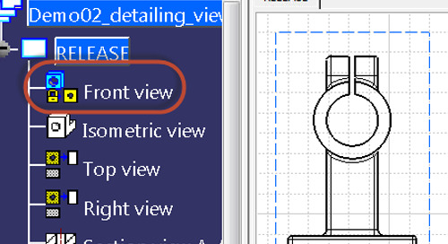 CATIA Tip: Locking Views in the Drafting Workbench