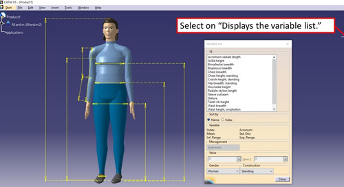 Creating Specialized Human Forms in CATIA V5