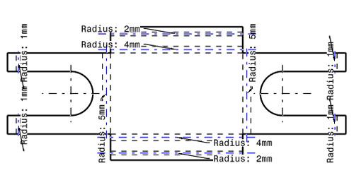 Displaying Bend Radius on Drawings in CATIA V5