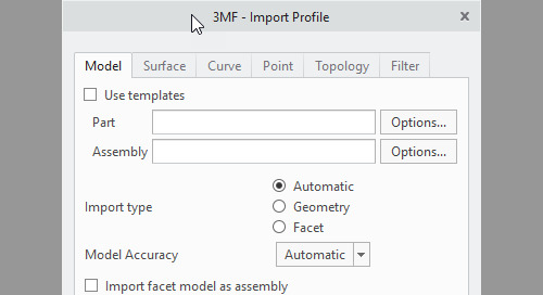 What's new in Creo Parametric 5.0-  Improved Support for Importing and Exporting 3MF Format
