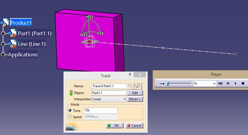 Applying Motion using Fitting Simulation