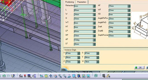 CATIA V5 Mold Tooling Design 2