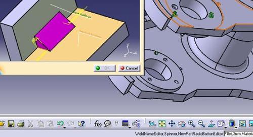 CATIA V5 Weld Design 1
