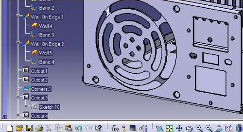 CATIA V5 Sheet Metal Design 1