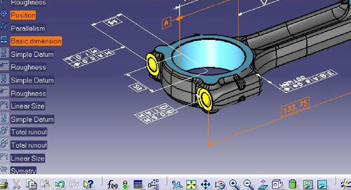 CATIA V5 3D Functional Tolerancing & Annotations