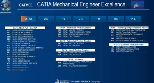 CATIA Mechanical Engineer Excellence