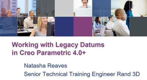 Working with Legacy Datums in Creo Parametric 4