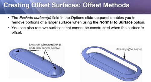 Creo Parametric's Offset Feature