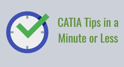 CATIA Tip: Half Dimension in CATIA Drafting