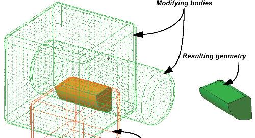 Using Multiple Bodies in Creo Parametric 7.0