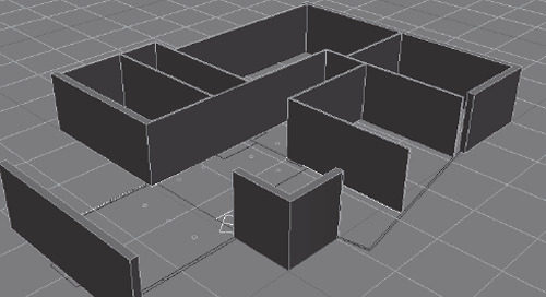 Extruding Nested Splines
