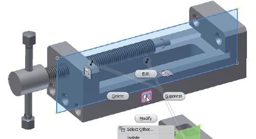 Relocating Assembly Components in Autodesk Inventor