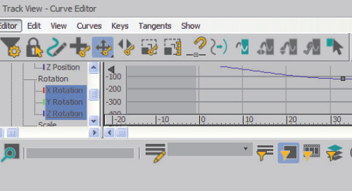 Autodesk 3ds Max Tip: Using the Curve Editor and Dope Sheet