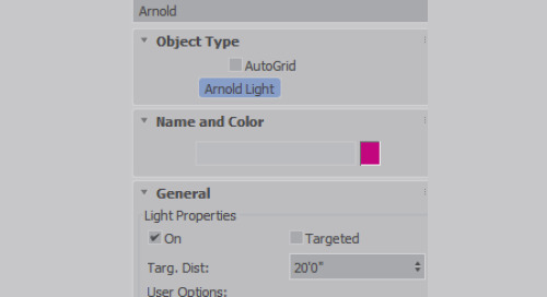 About Arnold Lights in Autodesk 3ds Max