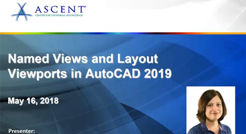 Named Views and Layout Viewports in AutoCAD 2019: WebCast follow up