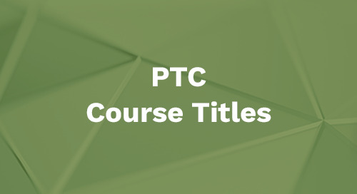 PTC Courseware Titles and Price List