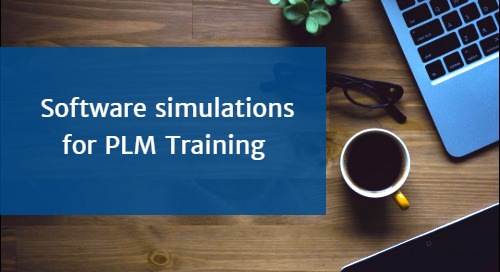 5 Reasons to consider Software Simulations for PLM Training