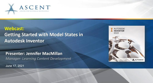 Getting Started with Model States in Autodesk Inventor