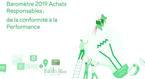 Infographie Baromètre 2019 Achats Responsables EcoVadis